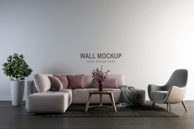 墙模型设计在三维渲染