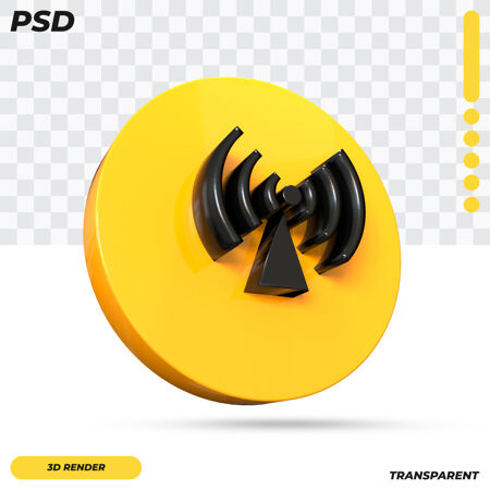 3d非电离辐射符号设计隔离