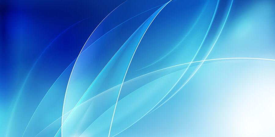 蓝色平滑波浪背景