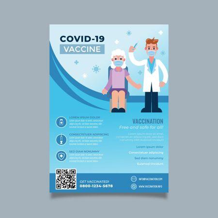 梯度冠状病毒疫苗传单